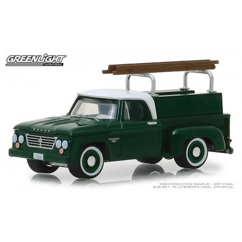 Greenlight Blue Collar Series 5 - 1963 Dodge D-100 with Ladder Rack