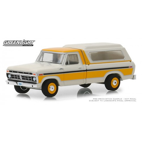 Greenlight Blue Collar Series 5 - 1977 Ford F-100 with Camper Shell