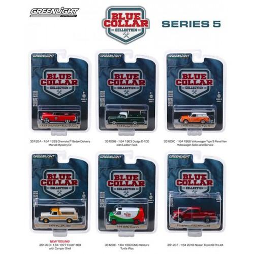 Greenlight Blue Collar Series 5 - Six Piece Set