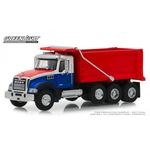 Greenlight S.D. Trucks Series 6 - 2019 Mack Granite Dump Truck