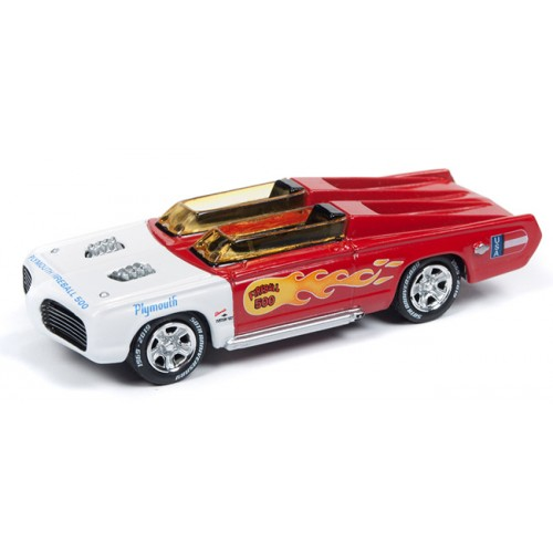 Johnny Lightning Classic Gold - George Barris Fireball 500