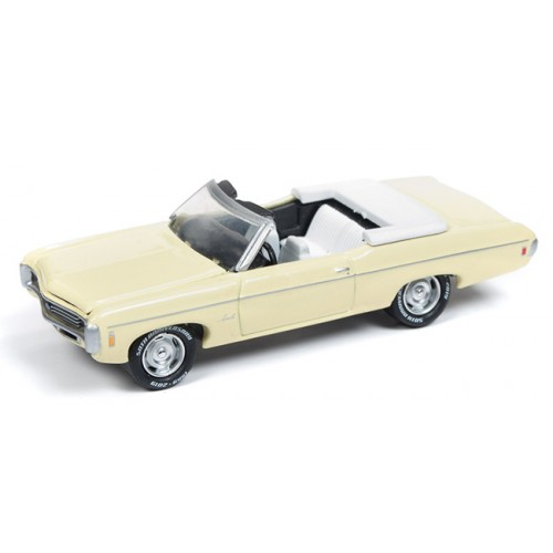 Johnny Lightning Classic Gold - 1969 Chevy Impala Convertible