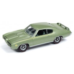 Johnny Lightning Muscle Cars - 1969 Pontiac GTO Judge