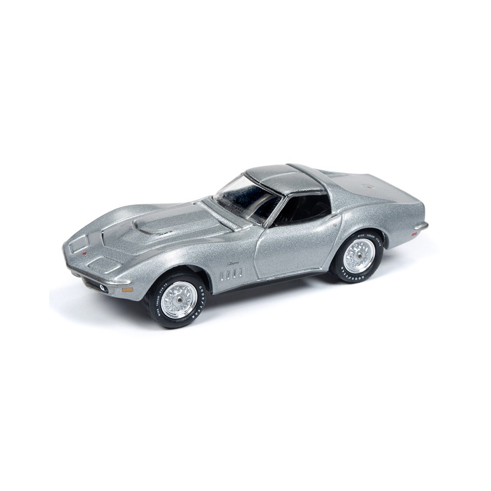 Johnny Lightning Muscle Cars - 1969 Chevrolet Corvette