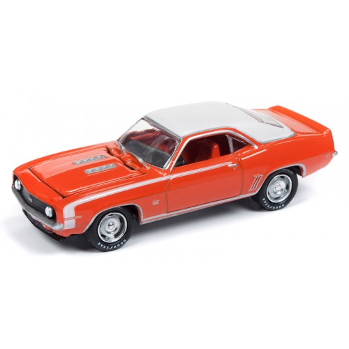Johnny Lightning Muscle Cars - 1969 Chevy Camaro SS
