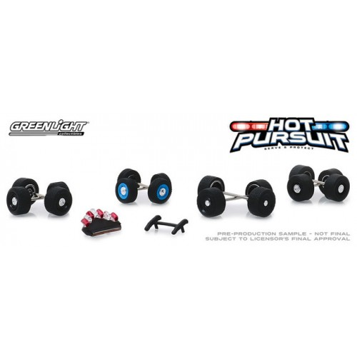 Greenlight Hobby Exclusive - Hot Pursuit Wheel and Tire Pack