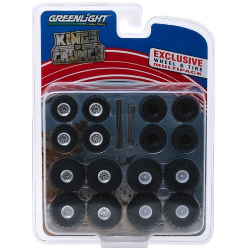 Greenlight Hobby Exclusive - Kings of Crunch Wheel and Tire Pack
