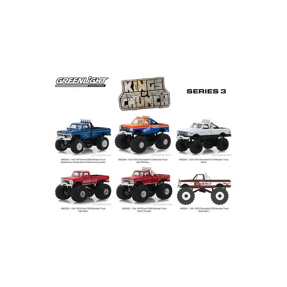 Greenlight Kings of Crunch Series 3 - Six Truck Set