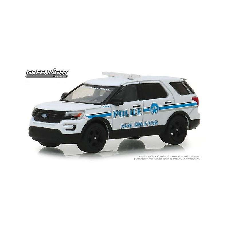 N6 Greenlight Hot Pursuit 2016 Ford F-150 Police