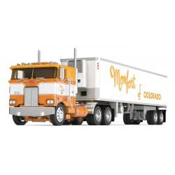 DCP Peterbilt 352 COE with Vintage Refrigerated Trailer