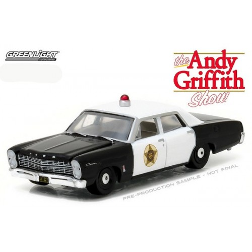 Hollywood Series 16 - 1967 Ford Custom Police Car