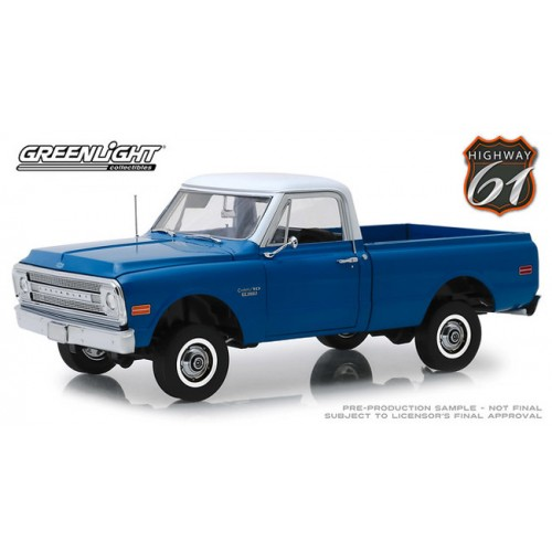 Greenlight Highway 61 - 1970 Chevy C-10 with Lift Kit