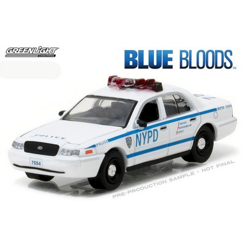 Hollywood Series 16 - 2001 Ford Crown Victoria Police Interceptor