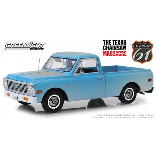 Greenlight Highway 61 - 1971 Chevy C-10 Texas Chainsaw Massacre
