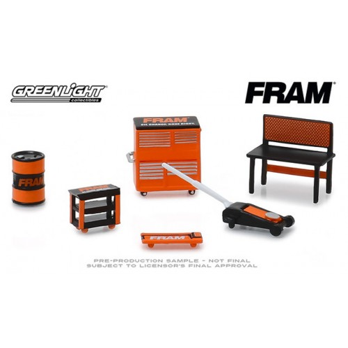 Greenlight Muscle Shop Tools - Fram Oil Filters