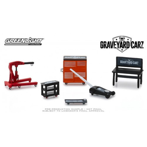 Greenlight Shop Tools - Graveyard Carz
