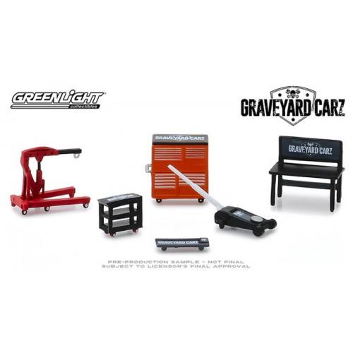 Greenlight Shop Tools - Graveyard Carz