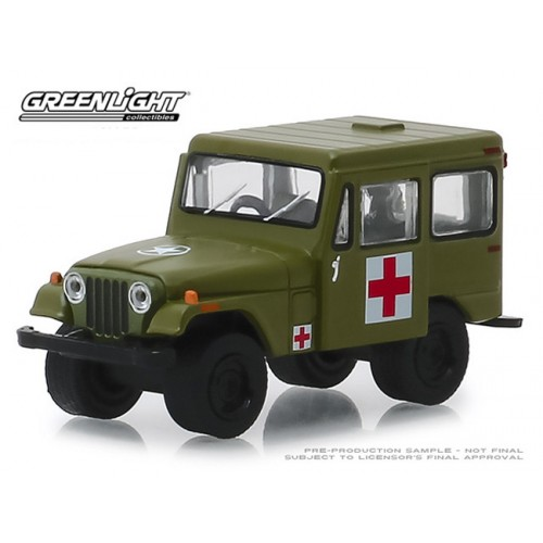 Greenlight Hobby Exclusive - 1976 Jeep DJ-5 Medical Unit