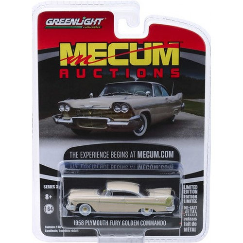 Greenlight Mecum Auctions Series 3 - 1958 Plymouth Fury