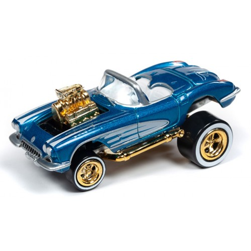 Johnny Lightning Street Freaks - 1958 Chevy Corvette