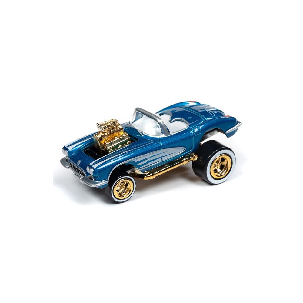 Johnny Lightning Street Freaks - 1958 Chevy Corvette