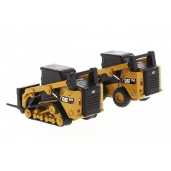 Diecast Masters Caterpillar 272D2 Skid Loader and 297DA Compact Track Loader