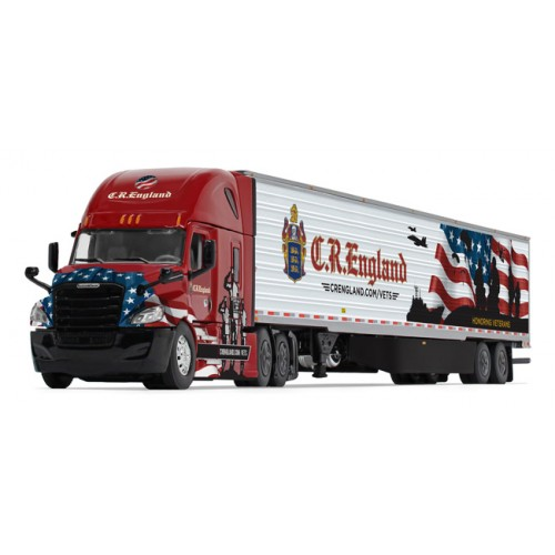 DCP Freightliner Cascadia with Utility Refrigerated Trailer