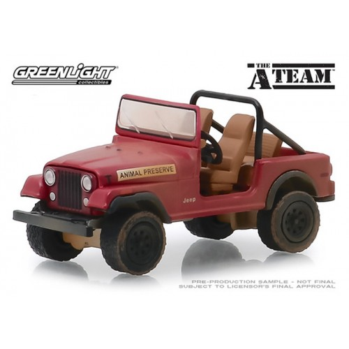 Greenlight Hollywood Series 24 - Jeep CJ-7