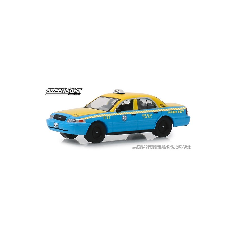 Greenlight Hobby Exclusive - 2011 Ford Crown Victoria Checker Taxi