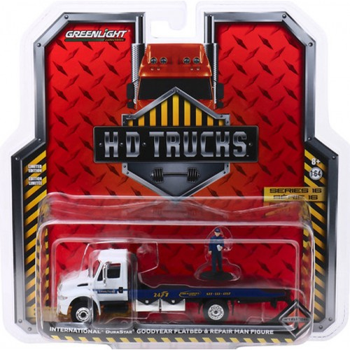 Greenlight H.D. Trucks Series 16 - International DuraStar Flatbed