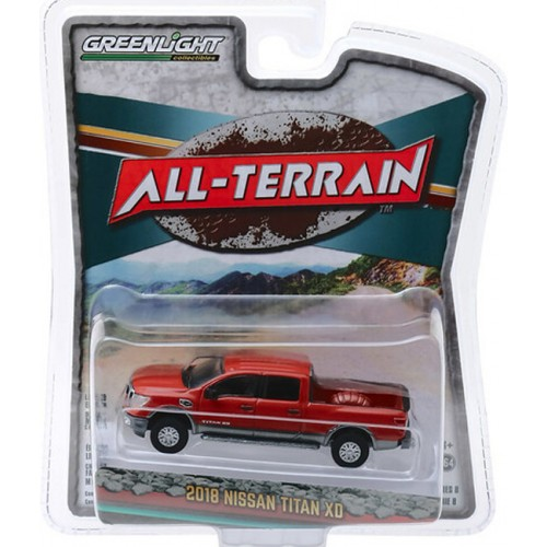 Greenlight All-Terrain Series 8 - 2018 Nissan Titan XD