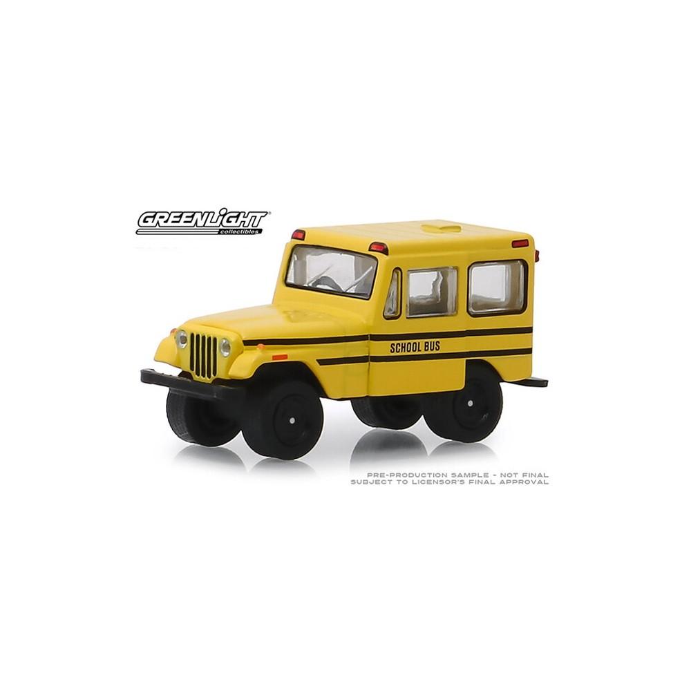 Greenlight Hobby Exclusive - 1974 Jeep DJ-5 School Bus