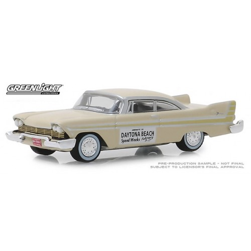 Greenlight Hobby Exclusive - 1957 Plymouth Fury Daytona Beach