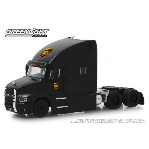 Greenlight S.D. Trucks Series 7 - 2019 Mack Anthem Truck Cab UPS