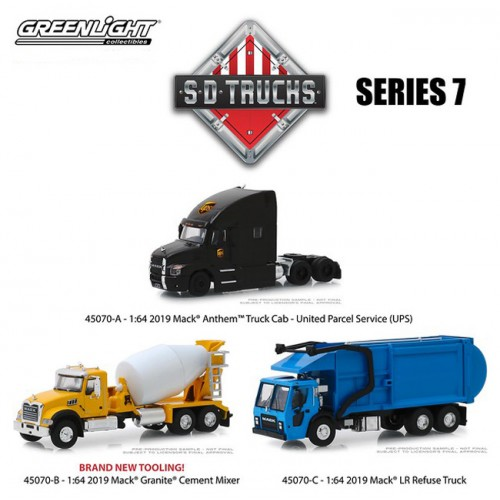 Greenlight S.D. Trucks Series 7 - Set