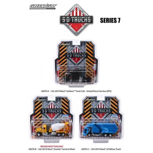 Greenlight S.D. Trucks Series 7 - Set