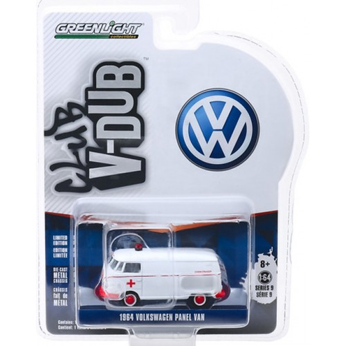 Greenlight Club V-Dub Series 9 - 1964 Volkswagen Panel Van Ambulance