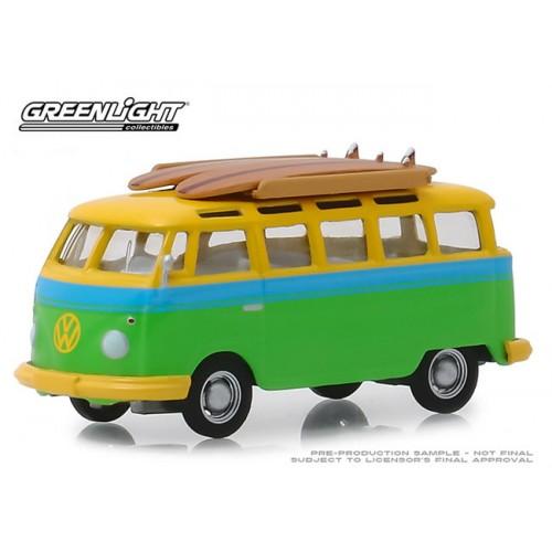 Greenlight Club Vee-Dub Series 9 - 1964 Volkswagen Samba Bus
