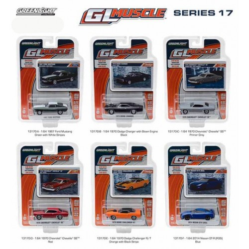 GL Muscle Series 17 - Six Car Set