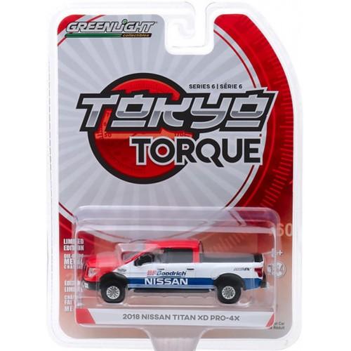 Greenlight Tokyo Torque Series 6 - 2018 Nissan Titan XD Pro-4X