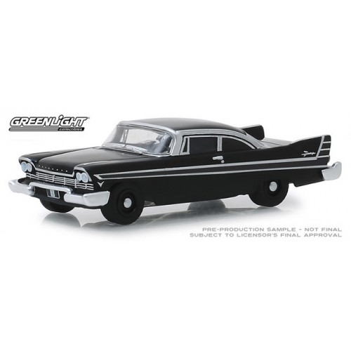 Greenlight Black Bandit Series 21 - 1957 Plymouth Fury
