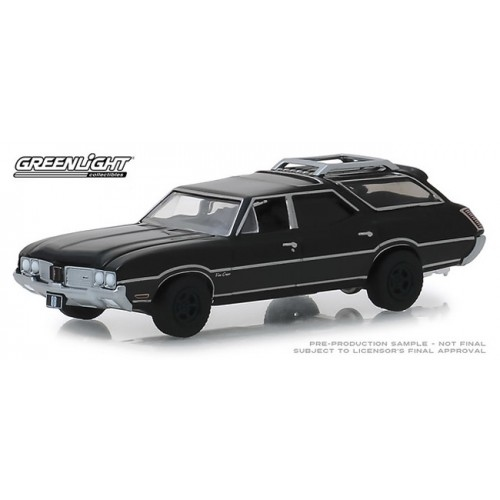 Greenlight Black Bandit Series 21 - 1970 Oldsmobile Vista Cruiser
