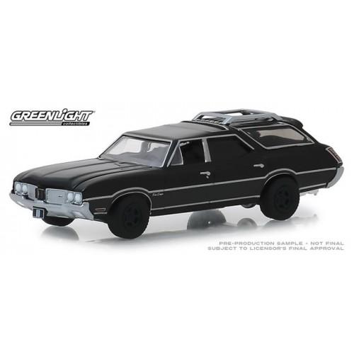 Greenlight Black Bandit Series 21 - 1970 Oldsmobile Vista Cruiser