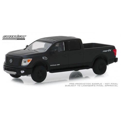 Greenlight Black Bandit Series 21 - 2018 Nissan Titan XD Pro-4X
