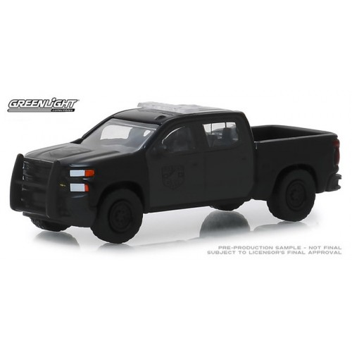 Greenlight Black Bandit Series 21 - 2019 Chevy Silverado