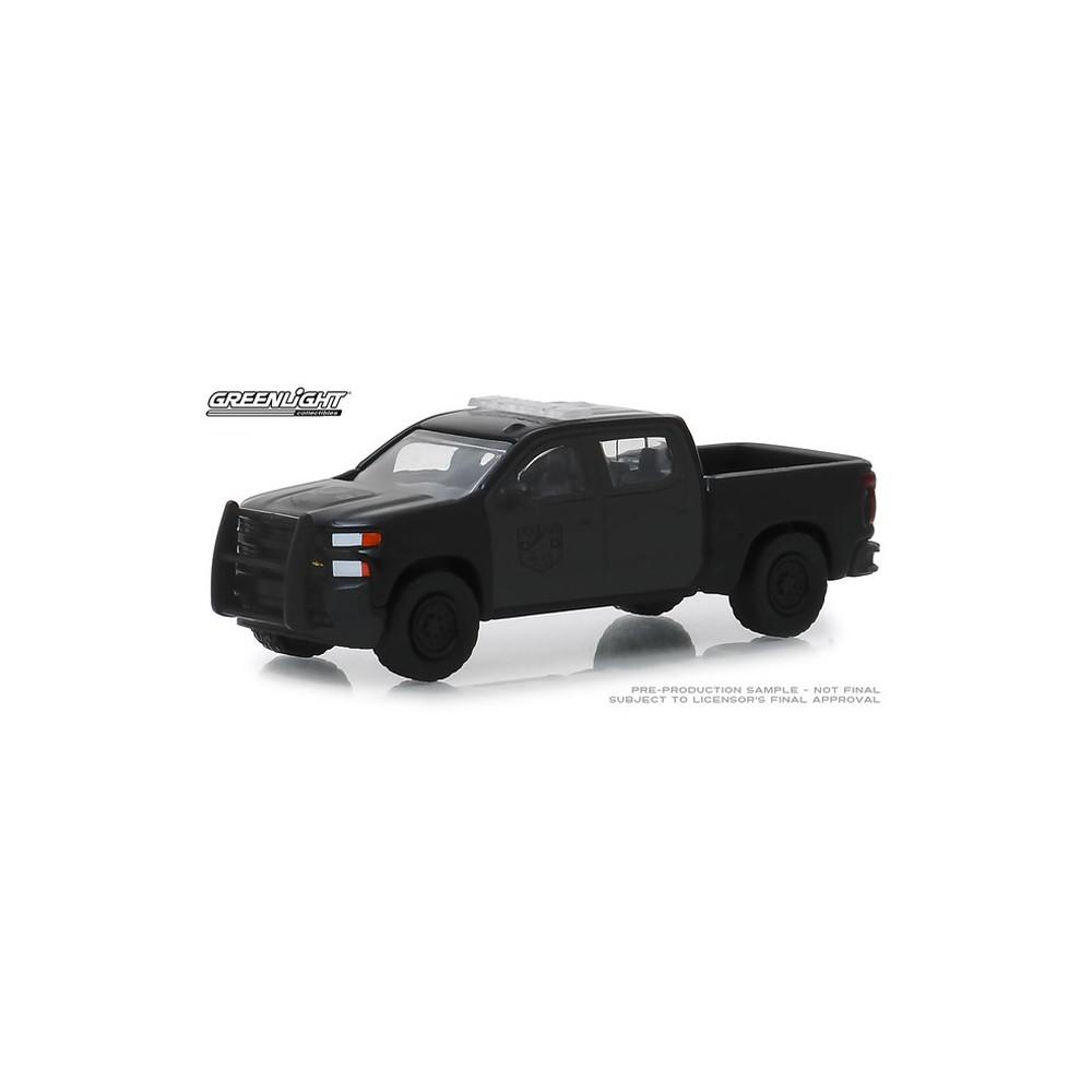 Greenlight Black Bandit Series 21 - 2019 Chevy Silverado