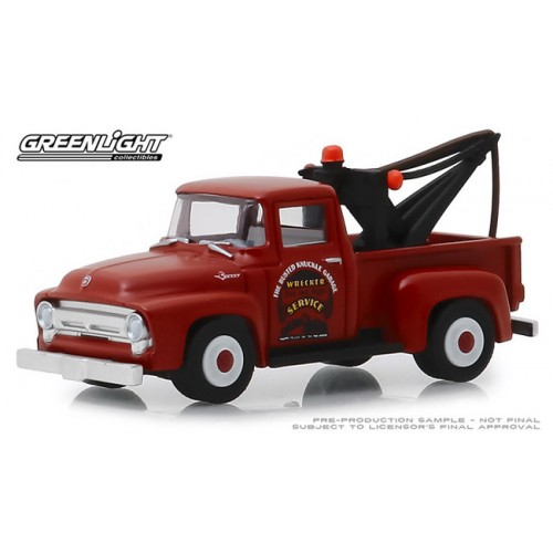 Greenlight Busted Knuckle Garage Series 1 - 1956 Ford F-100 Tow Truck