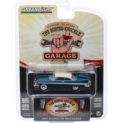 Greenlight Busted Knuckle Garage Series 1 - 1957 Plymouth Belvedere