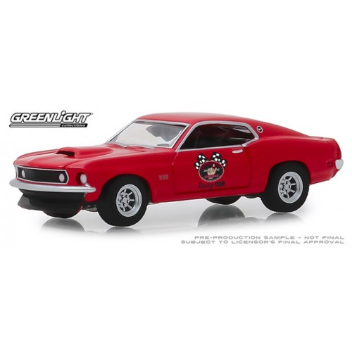 Greenlight Busted Knuckle Garage Series 1 - 1969 Ford Mustang BOSS 429