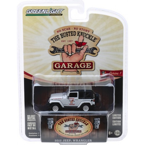 Greenlight Busted Knuckle Garage Series 1 - 2012 Jeep Wrangler